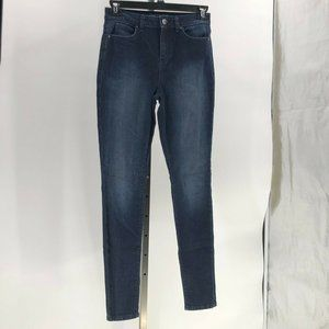jennifer lopez high rise skinny jeans womens sz 6L